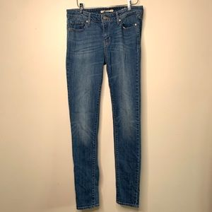 Levi's 711 Skinny Jeans Women's 28 Light Wash